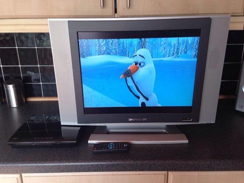Daewoo Flat Screen TV with View DVD Player | in Baguley, Manchester