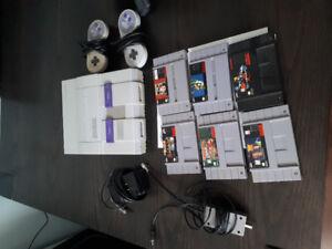 Snes console w/ games