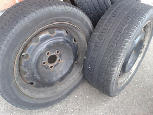 16 inch 5x100 steel rims for sale