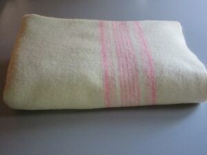 Couverture Laine 100% Wool Blanket Twin