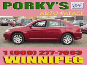 2013 Chrysler 200 $39 DOWN.. BAD CREDIT OK 204-415-5299