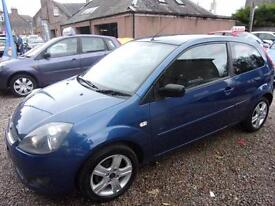 FORD FIESTA 1.4 zetec climate 2008 Petrol Manual in Blue