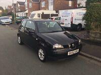 52 seat arosa 1.0 petrol manual. £550 BARGAIN!!