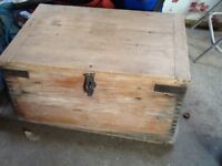 Wooden play box