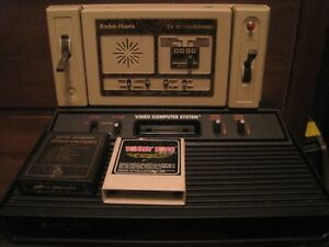 2 old video game machines