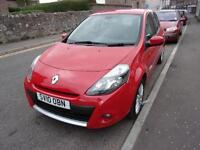 RENAULT CLIO 1.2 dynamique 2010 Petrol Manual in Red