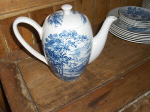 """cafetière antique """"enoch wedgwood countryside"""""""