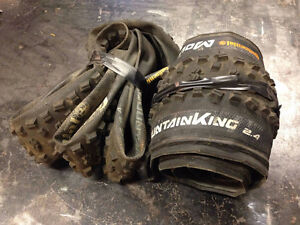 """[2] 29"""" Continental Mountain King Tires for sale"""