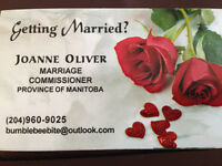 Marriage Commissioner for Province of Manitoba SINCE 2005