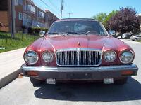 Jaguar xj6 1986 850$ VENTE RAPIDE...AUTRE PROJET