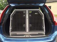 Trans-K9 Dog Transit Cage + Deluxe Telescoping Pet Ramp