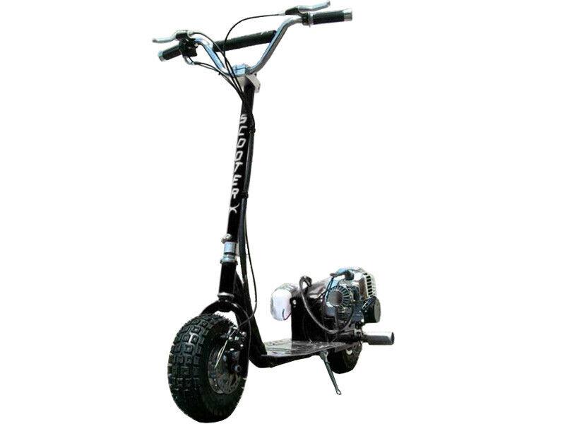 ScooterX Dirt Dog 49cc Black Wheelies 30 MPH-Continental US ONLY
