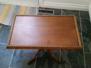 Antique Clawfoot Coffee Table