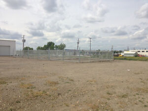 Fenced and Gated compound for rent