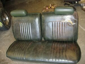 1972 CHEVELLE BENCH & REAR SEATS FOR SALE