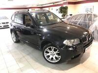 BMW X3 3.0d M Sport (black) 2006