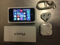 iPhone 4 Black 16GB UNLOCKED TO ANY NETWORK