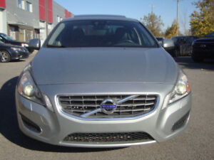 "2012 VOLVO S60 T6 $ 13,990 AWD  94,616 Km 4Chassis Roof, 18"" A1"