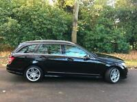 Mercedes-Benz C220 2.1TD Auto CDI AMG Sport A family business est 18 years
