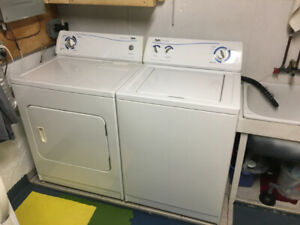 Inglis washer + dryer