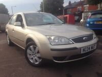 Ford Mondeo 1.8 LX 2004 + JUST 53,000 MILES + MOT TILL JUN 2017