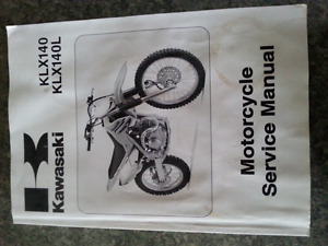 Kawasaki klx140 service manual