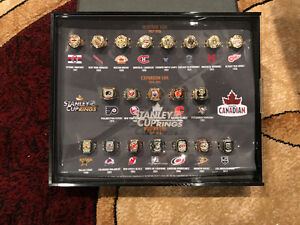 Complete set of Molson Canadian Stanley cup rings London Ontario image 1