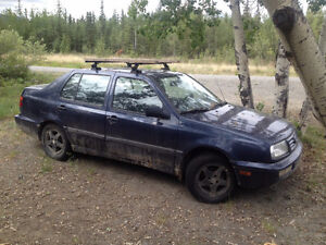 1996 Volkswagen Jetta 1.9L Turbo Diesel for parts (still drives)