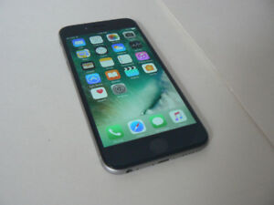 iphone 6 Factory Unlocked space Gray Chatr,Rogers,Telus,Freedom