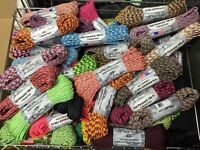 100' Paracord - Many Colours to Choose From - Bracelets