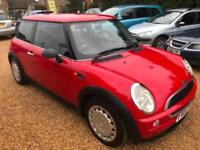 2002 Mini Mini 1.6 One Full Mot 03/2019 Full Service 10 stamps 1 Keeper 2 Keys