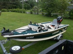 14 Foot Legend Viper V140 Alumium Boat with Side Console
