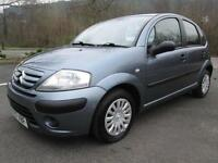 07/07 CITROEN C3 1.4 HDI COOL 5DR HATCH IN GREY WITH ONLY 73,000 MILES