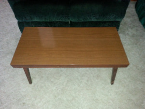 Coffee table, and end table.