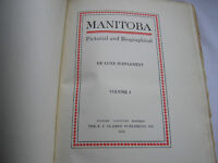 1913 Manitoba Pictorial Biographical Deluxe Supplement