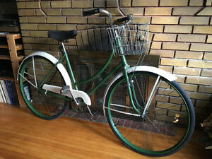 Vintage 1950s Antique CCM Womens Bicycle