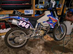2003 yz250f lots of extras