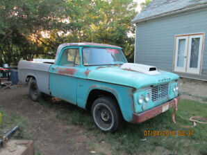 1961 FARGO SHORTBOX and 1969 Ford Bronco Parts