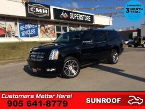 2013 Cadillac Escalade ESV Base  PWR-STEPS BS ROOF DUAL-DVDs 22""