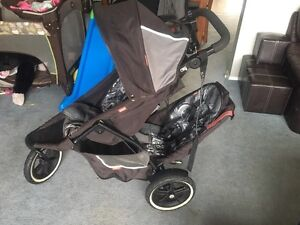 Phil and teds double jogging stroller.