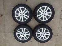 Honda Civic Hatchback alloy wheels