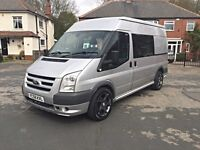 FORD TRANSIT TREND 2.2 TDCI CREW CAB, ONLY 70K MILES, STUNNING CONDITION, NO VAT !!