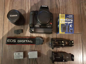 Canon T1i camera and EFs 18-55mm lens