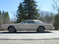 1978 Lincoln Continental Mark V Cartier Edition SELL OR TRADE