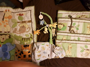 Crib bedding in great condition!