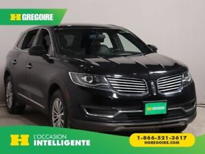 2016 Lincoln MKX Select AWD CUIR NAV MAGS CAM RECUL