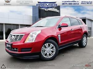 2015 Cadillac SRX FWD Luxury LEATHER SUNROOF NAVIGATION AND ONE