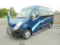 2014 14 AZTEC CAMPERS RENAULT MASTER 3-4 BERTH IN BLUE# JUST 23000 MLS FROM NEW