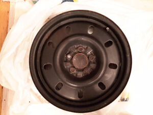 4 x steel wheel rims 16 in. 5 x 108 mm bolt pattern