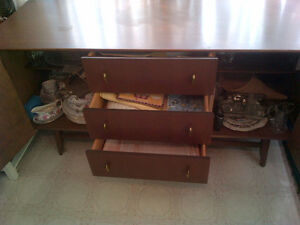 Teak Dinning Table, Chairs, Buffets, End Tables, etc. Kawartha Lakes Peterborough Area image 4